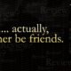 'Review my book?' Actually, I'd rather be friends.